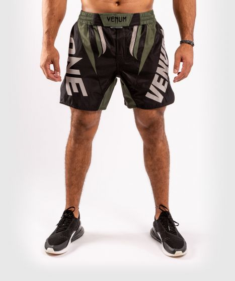Venum ONE FC Impact Fightshorts - Black/Khaki