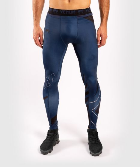 Venum Contender 5.0 Tights - Navy/Sand