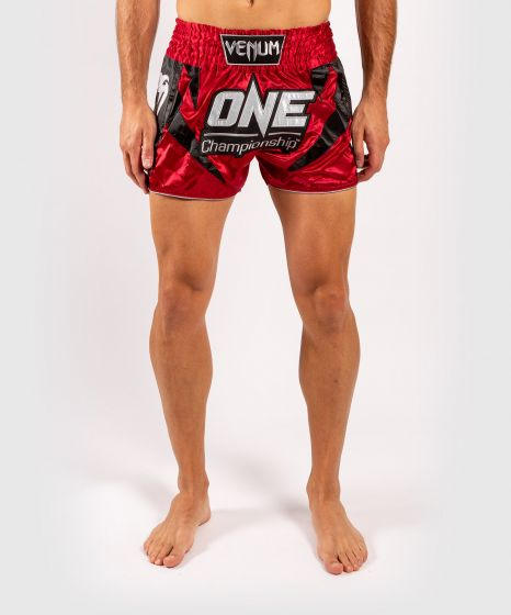 Venum x ONE FC Muay Thai Shorts - Red