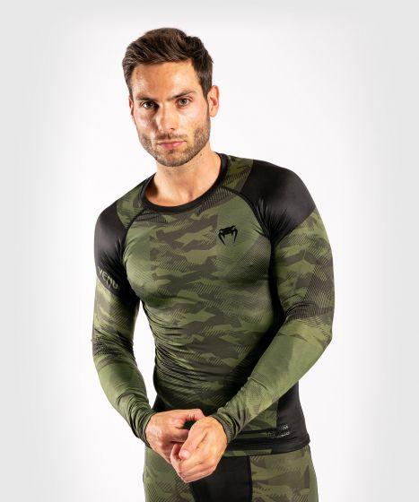 Venum Trooper Rashguard - Long sleeves - Forest camo/Black