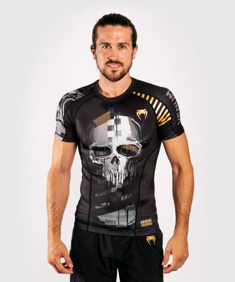Venum Skull Rashguard - Short sleeves - Black