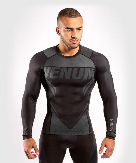 Venum ONE FC Impact Rashguard - long sleeves - Black/Black