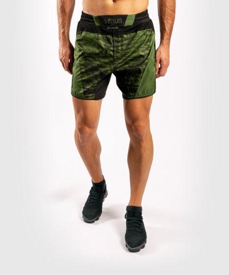 Venum Trooper Fightshorts - Forest camo/Black