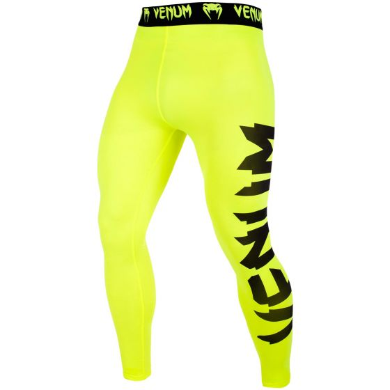 Venum Giant Compresssion Tights - Neo Yellow/Black