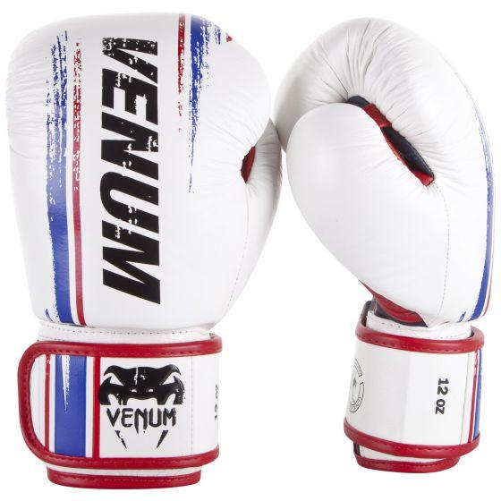 Venum Bangkok Spirit Boxing Gloves - Nappa leather - White
