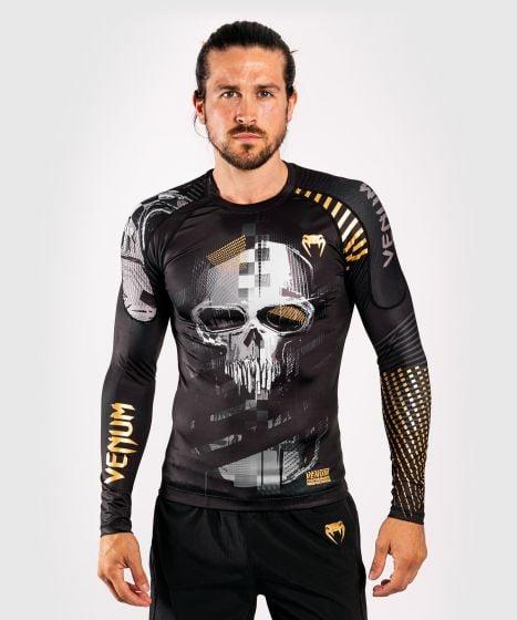 Venum Skull Rashguard - Long sleeves - Black