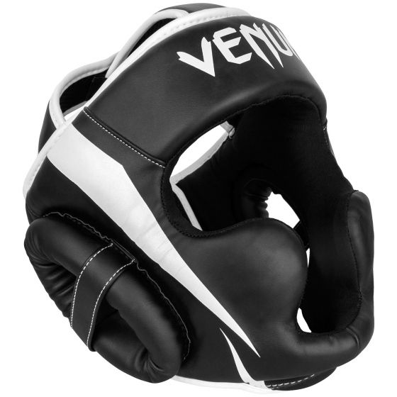 Venum Elite Headgear - Black/White - Taille Unique