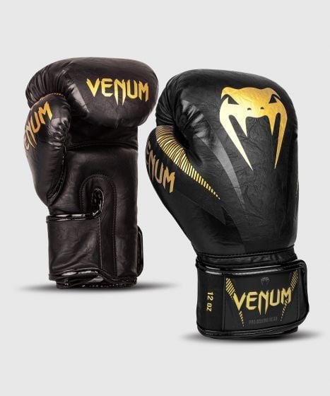 Venum Impact Boxing Gloves - Gold/Black