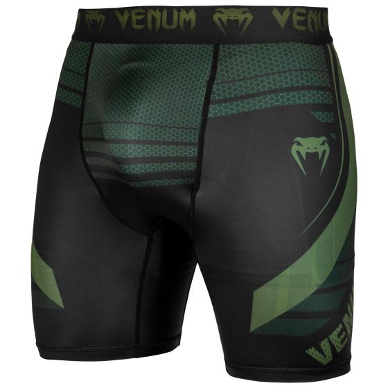 Venum Technical 2.0 Compression Shorts - Black/Khaki - Exclusive