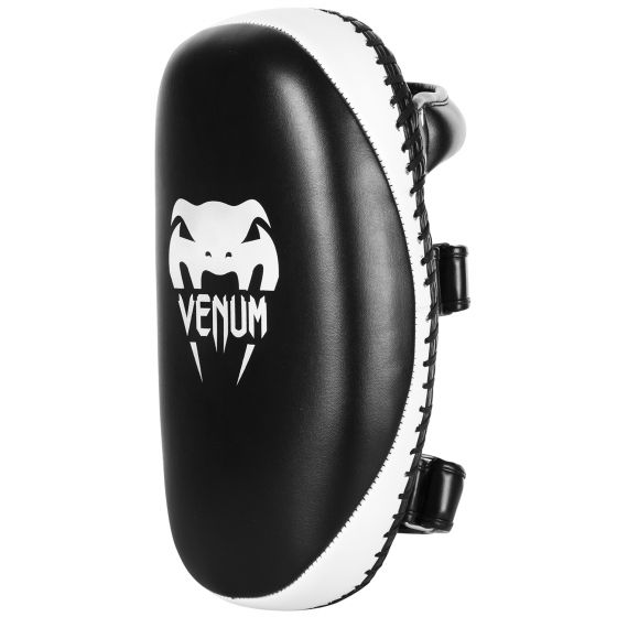 Venum Light Kick Pads - Skintex Leather - Black/Ice (Pair)