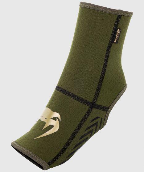 Venum Kontact Evo Foot Grips - Khaki/Gold