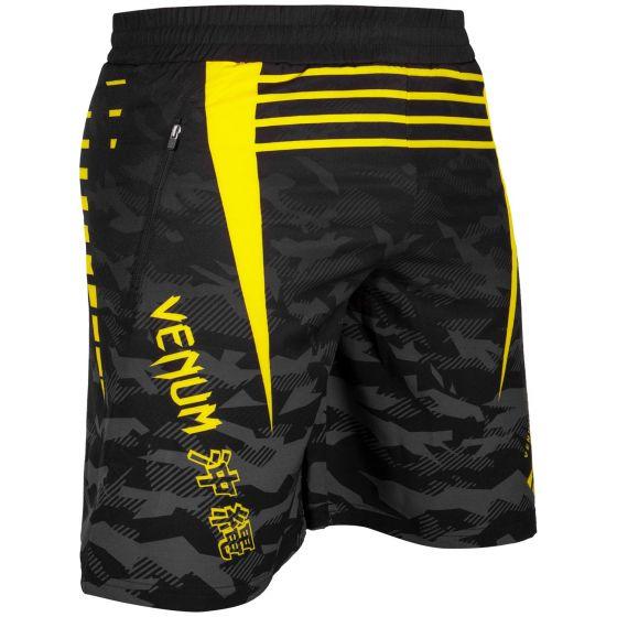 Venum Okinawa 2.0 Training Shorts - Black/Yellow