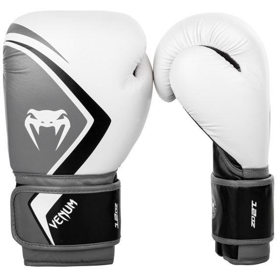Venum Boxing Gloves Contender 2.0 - White/Grey-Black