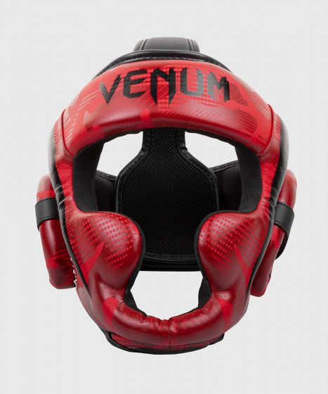 Venum Elite Boxing Headgear - Red Camo