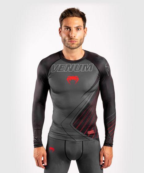 Venum Contender 5.0 Rashguard - Long sleeves - Black/Red