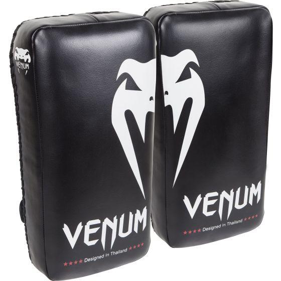 Venum Giant Kick Pads - Black/Ice (Pair)