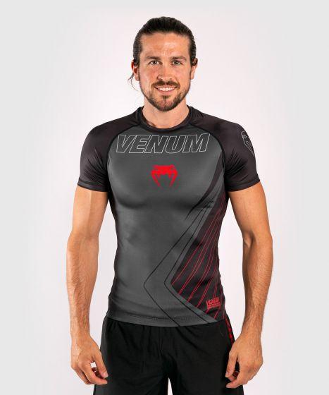 Venum Contender 5.0 Rashguard - Short sleeves - Black/Red