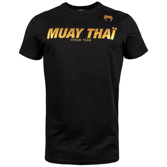 Venum Muay Thai VT T-shirt - Black/Gold