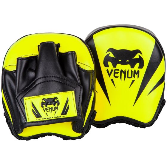 Venum Elite Mini Focus Mitts - Neo Yellow