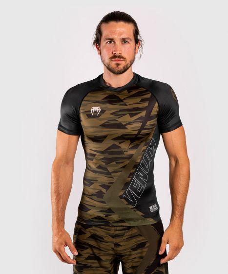 Venum Contender 5.0 Rashguard - Short sleeves - Khaki camo
