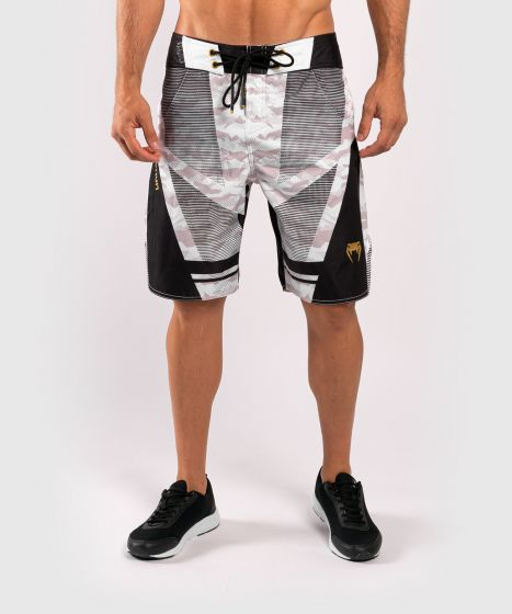 Venum Trooper boardshorts - White/Black