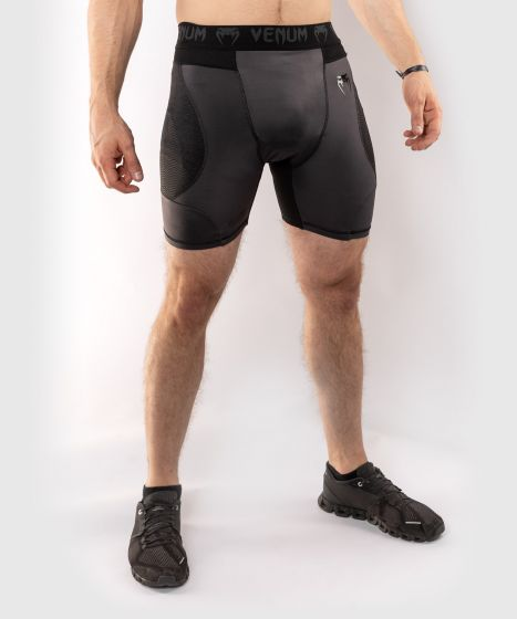 Venum G-Fit Compression Shorts - Grey/Black