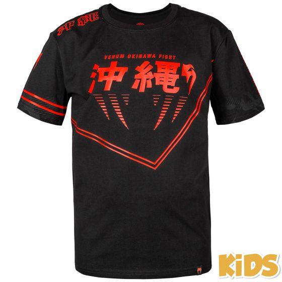 Venum Okinawa 2.0 Kids T-shirt - Black/Red