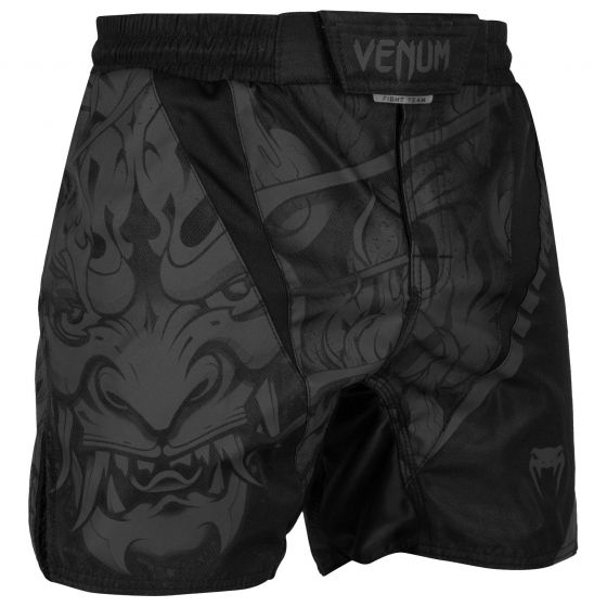 Venum Devil Fightshorts - Black/Black