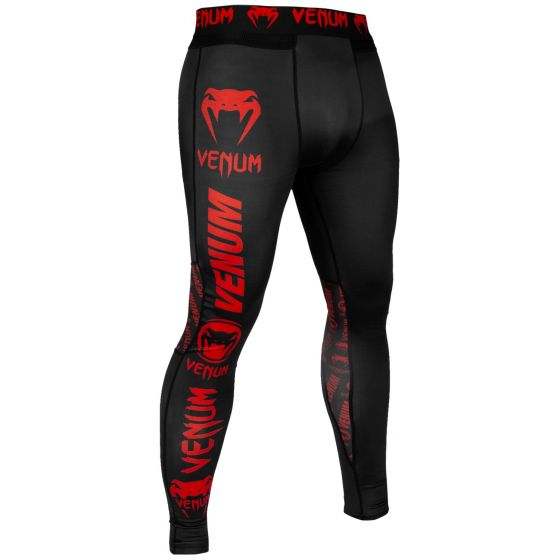 Venum Logos Tights - Black/Red