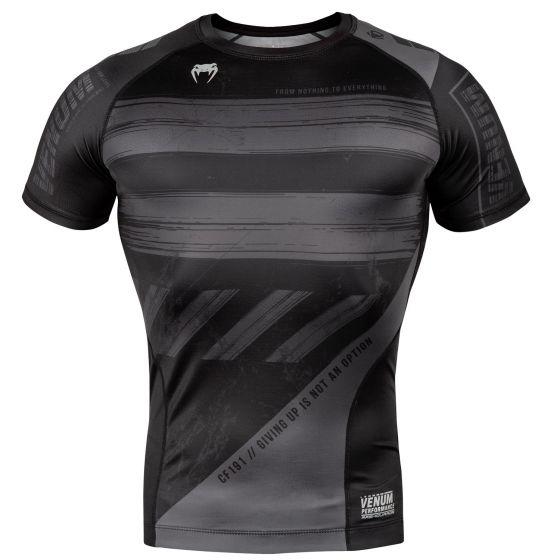 Venum AMRAP Compression T-shirt - Short Sleeves - Black/Grey