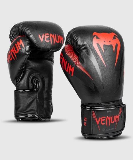 Venum Impact Boxing Gloves - Black/Red