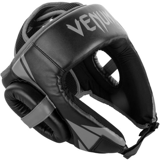 Venum Challenger Open Face Headgear - Black/Grey